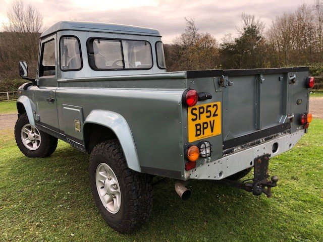 2002 Land Rover Defender 110 td5 truck cab, Galvanised chassis For Sale (picture 3 of 6)