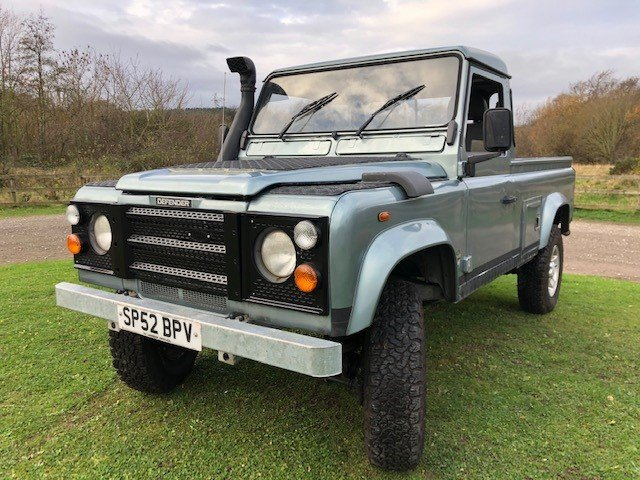 2002 Land Rover Defender 110 td5 truck cab, Galvanised chassis For Sale (picture 5 of 6)