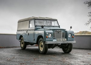 Picture of 1972 Land Rover Series III LWB SOLD by Auction