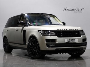 17 17 RANGE ROVER AUTOBIOGRAPHY LWB 5.0 SUPERCHARGED V8 AUTO