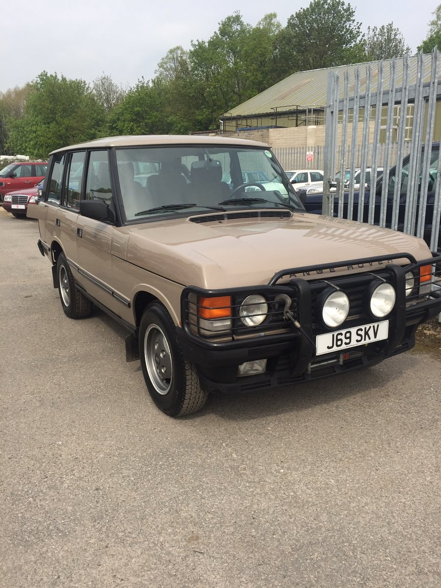 1992 Range Rover Vouge EFI Left Hand Drive For Sale (picture 1 of 6)