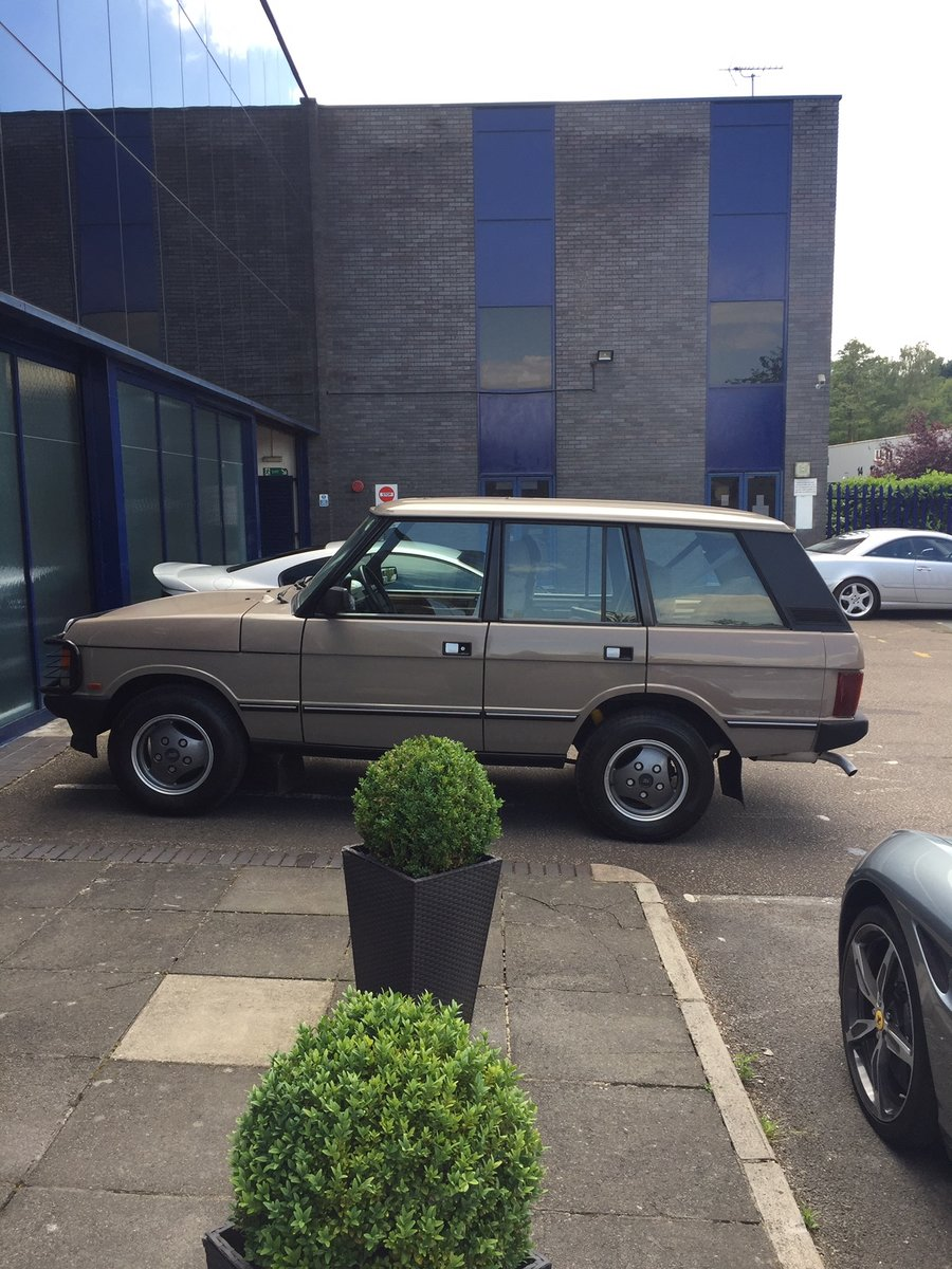1992 Range Rover Vouge EFI Left Hand Drive For Sale (picture 3 of 6)