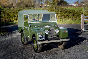 "Picture of Land Rover Series 1 80"" 1953 Model 65,000 Miles from New For Sale"