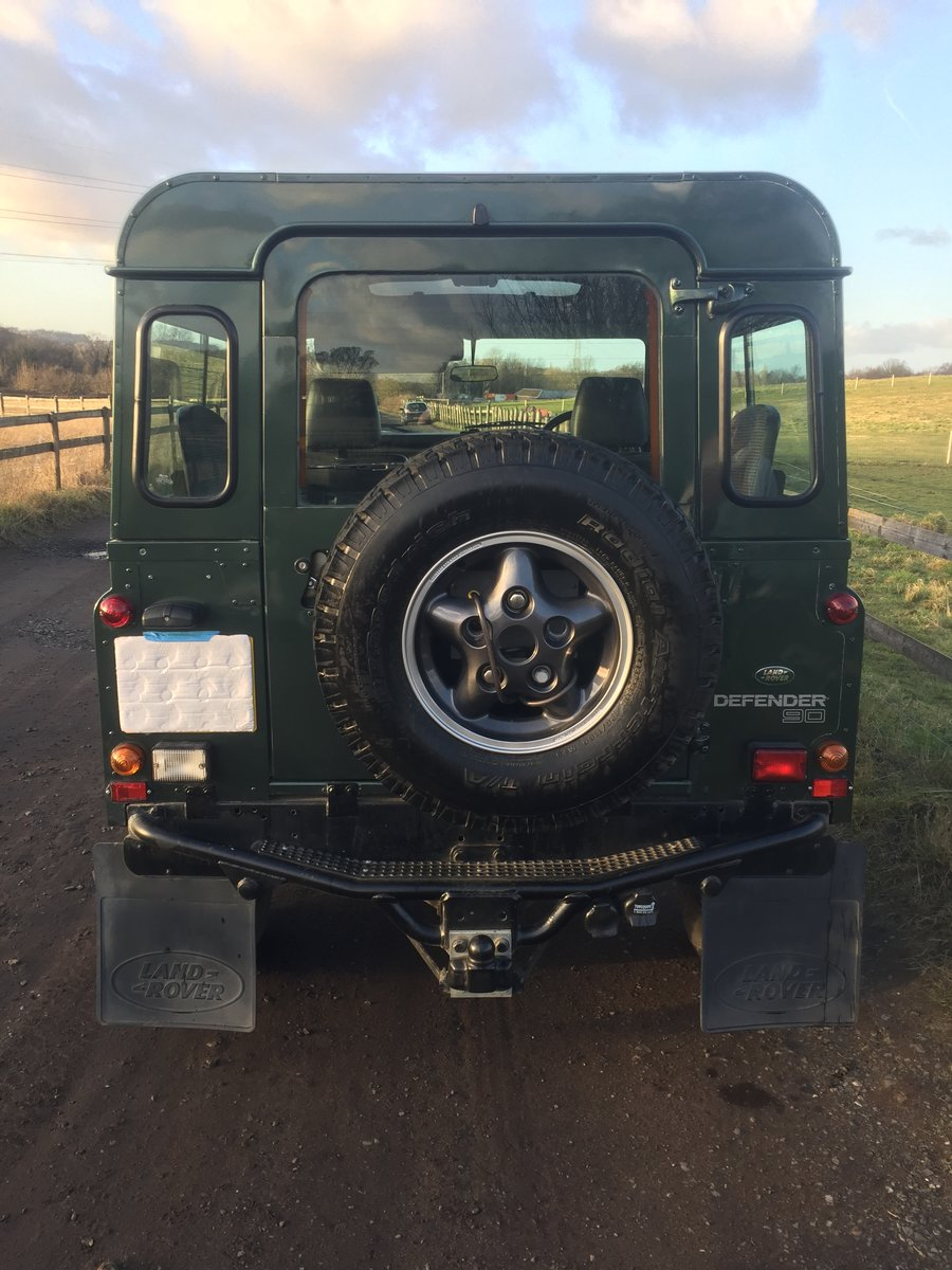 1994 Most desirable defender 90 300 tdi sw Currently under offer For Sale (picture 5 of 6)