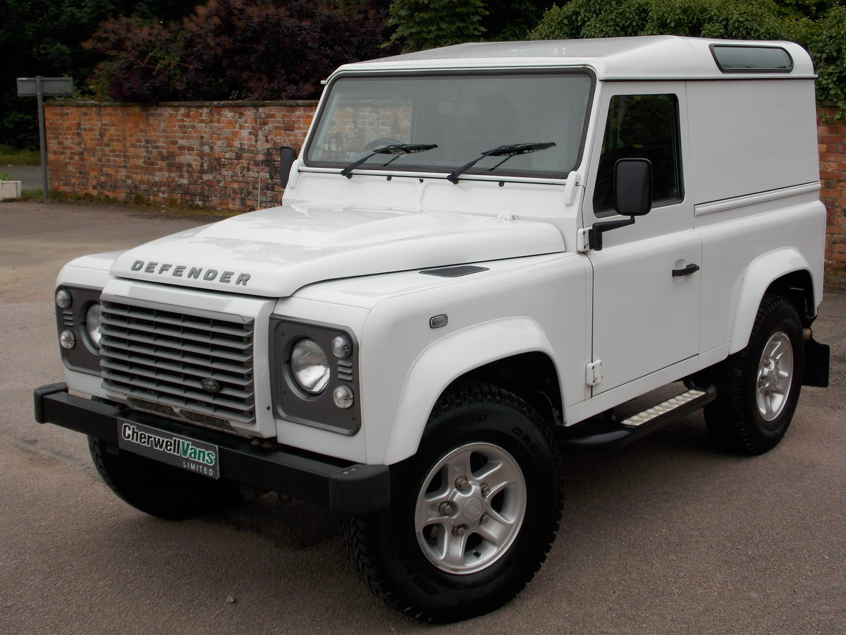 2015 Land rover defender 90 xs 2.2 hard top 72k miles For Sale (picture 1 of 6)