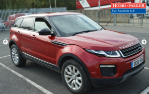 2016 Land Rover Evoque SE Tech 61,717 for auction 25th
