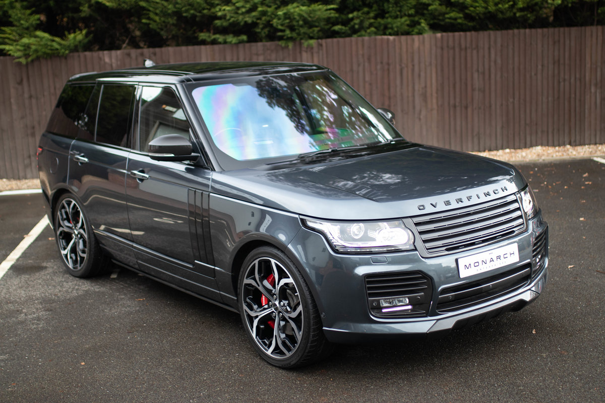 2017/17 Range Rover Autobiography SDV8 Overfinch GT For Sale (picture 1 of 6)