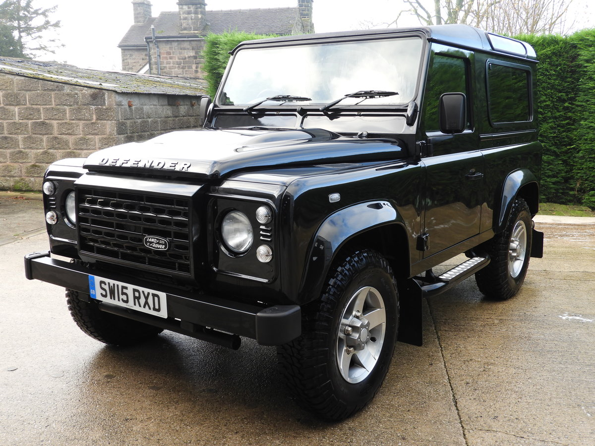 2015 LAND ROVER DEFENDER 90 2.2TDCI XS STATION WAGON !!! For Sale (picture 2 of 6)