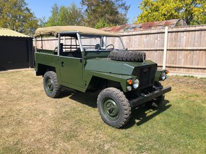 Land Rover Series 3 Lightweight 2.25 Petrol LHD