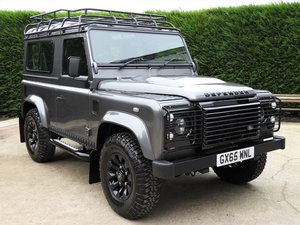 2015 LAND ROVER DEFENDER 90 2.2TDCI LIMITED EDITION LANDMARK