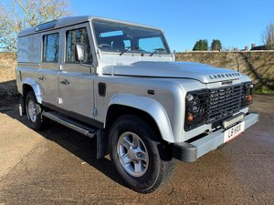 2009 Defender 110 TDCi County Utility Station Wagon long MOI