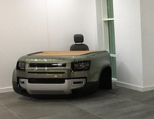 Picture of 2020 Land Rover Defender Desk & Chair For Sale by Auction