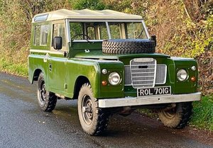 Picture of 1968 Land Rover Series IIA 4x4 Utility For Sale by Auction