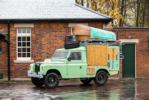 """Picture of Land Rover 109"""" 4x4 Gastrowagon For Sale by Auction"""
