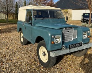 """Picture of 1984 Land Rover Series III 88"""" For Sale by Auction"""
