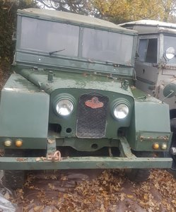 Belgian Military Land Rover Series 1 80 Minerva