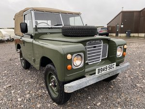 Picture of 1984 Land Rover® Series 3 *Ex-Military Soft Top* (SEC) SOLD SOLD