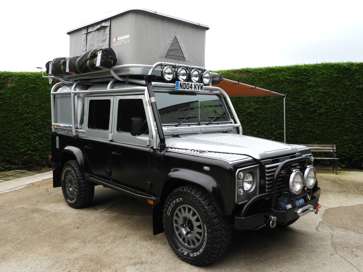 2004 LAND ROVER DEFENDER 110 2.5 TD5 XS DBL CAB EXPEDITION For Sale (picture 9 of 12)