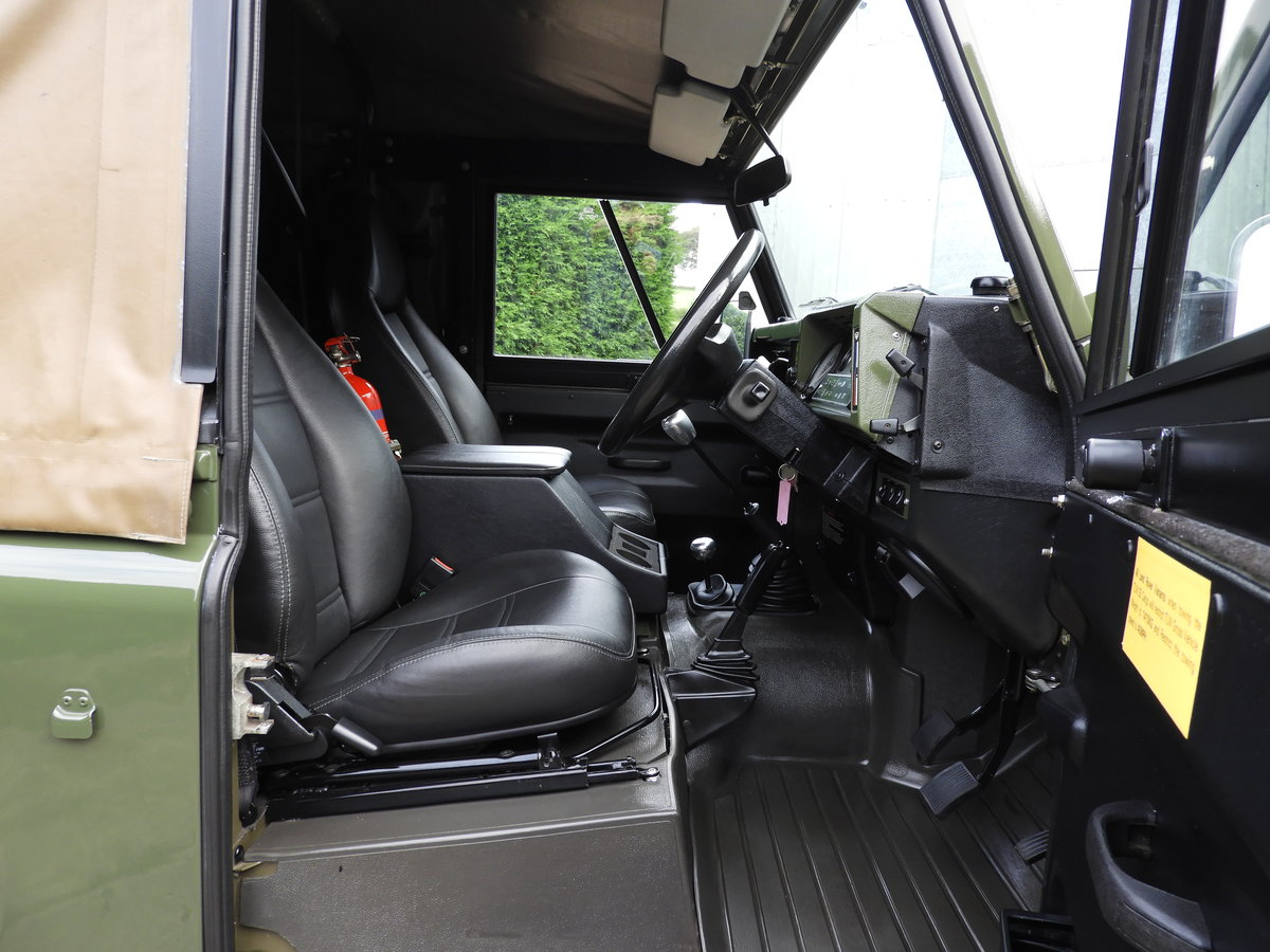 1998 LAND ROVER DEFENDER 90 300TDI EX MOD RARE XD-WOLF!! For Sale (picture 9 of 12)