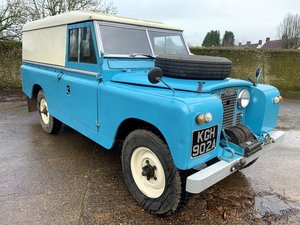 Picture of 1962 Series 2a 109in hardtop+galv chassis+overdrive +12M Mot For Sale