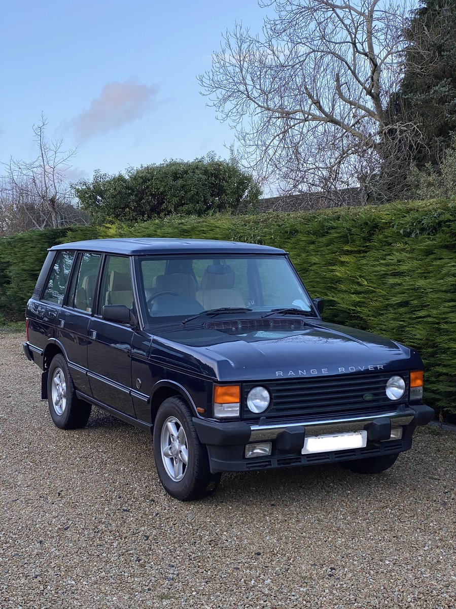 25th Anniversary Range Rover