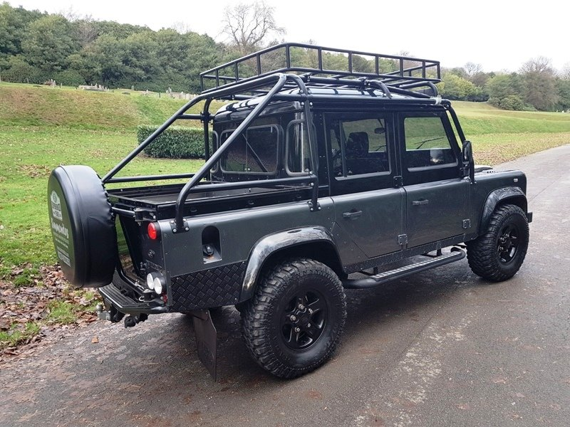 1986 LAND ROVER DEFENDER 300 TDI 110 DOUBLE CAB PICKUP For Sale (picture 2 of 2)