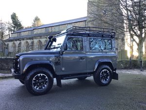 Picture of LAND ROVER DEFENDER 90 EDITION.2016/16 PLATE.1 OWNER. £48995 For Sale