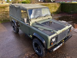 Picture of 1986 Land Rover 110 2.5D ex military soft top with PAS SOLD