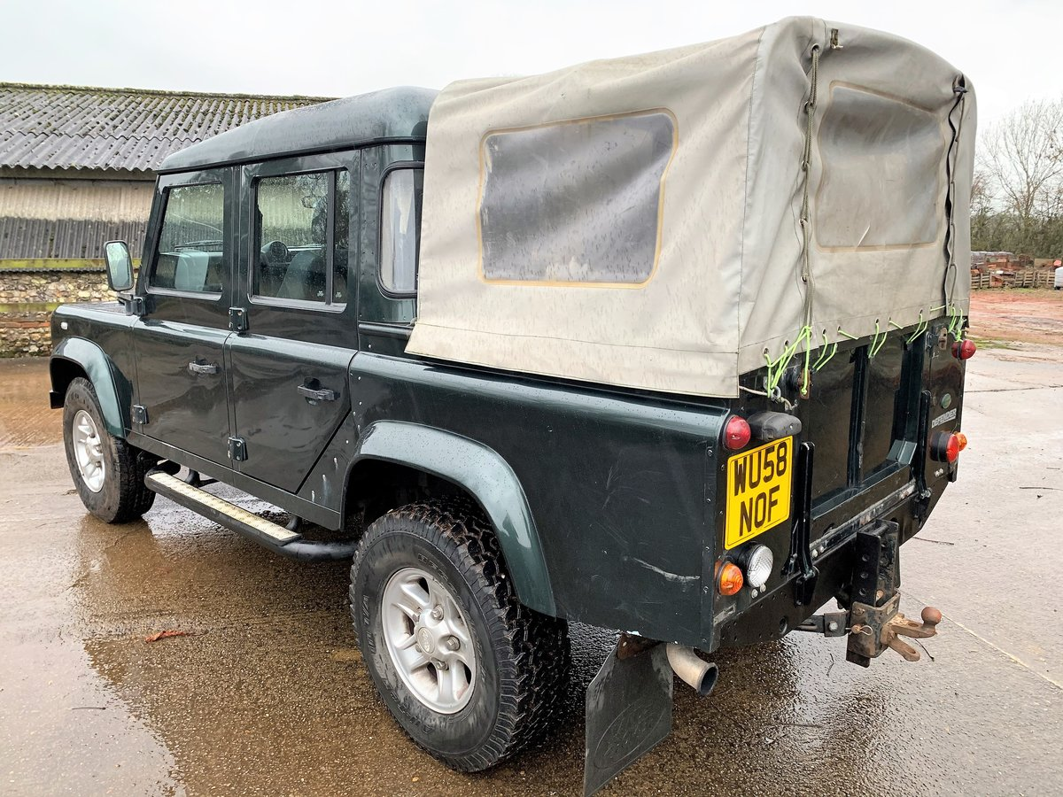 2008/58 Defender 110 TDCi XS Doublecab For Sale (picture 5 of 12)