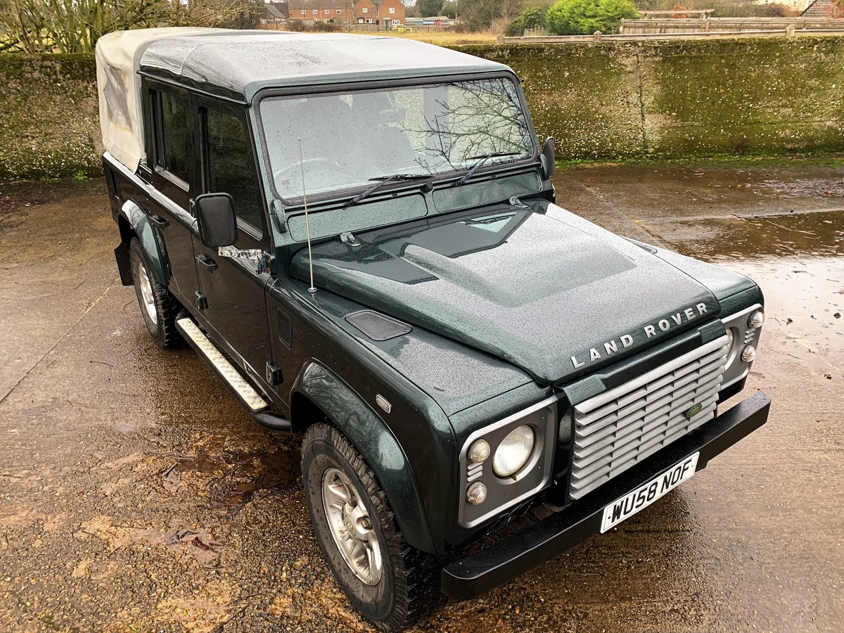 2008/58 Defender 110 TDCi XS Doublecab For Sale (picture 12 of 12)