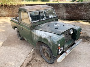 Picture of heavily patinated 1960 Series II 88in petrol truck cab For Sale