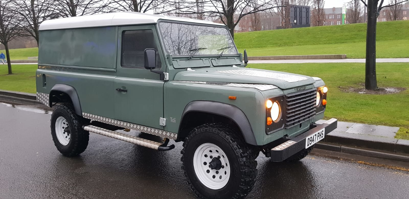 1986 Fully refurbished110 landrover For Sale (picture 6 of 12)