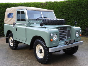 1972 LAND ROVER SERIES 3 88 SOFT TOP RESTORED !!!!