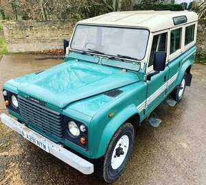 Picture of rare early 1983 land rover 110V8 CSW in lovely order SOLD