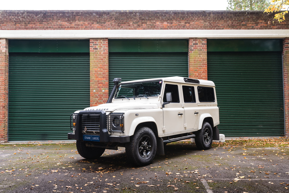 2009 Land Rover Defender 110 - LHD - 1 Owner - UK Registered For Sale (picture 1 of 12)