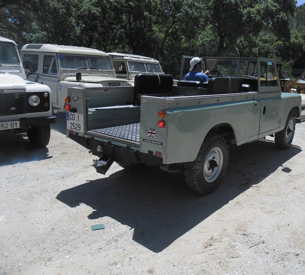 1979 Classic Land Rover 109  4x4 convertible For Sale (picture 12 of 12)