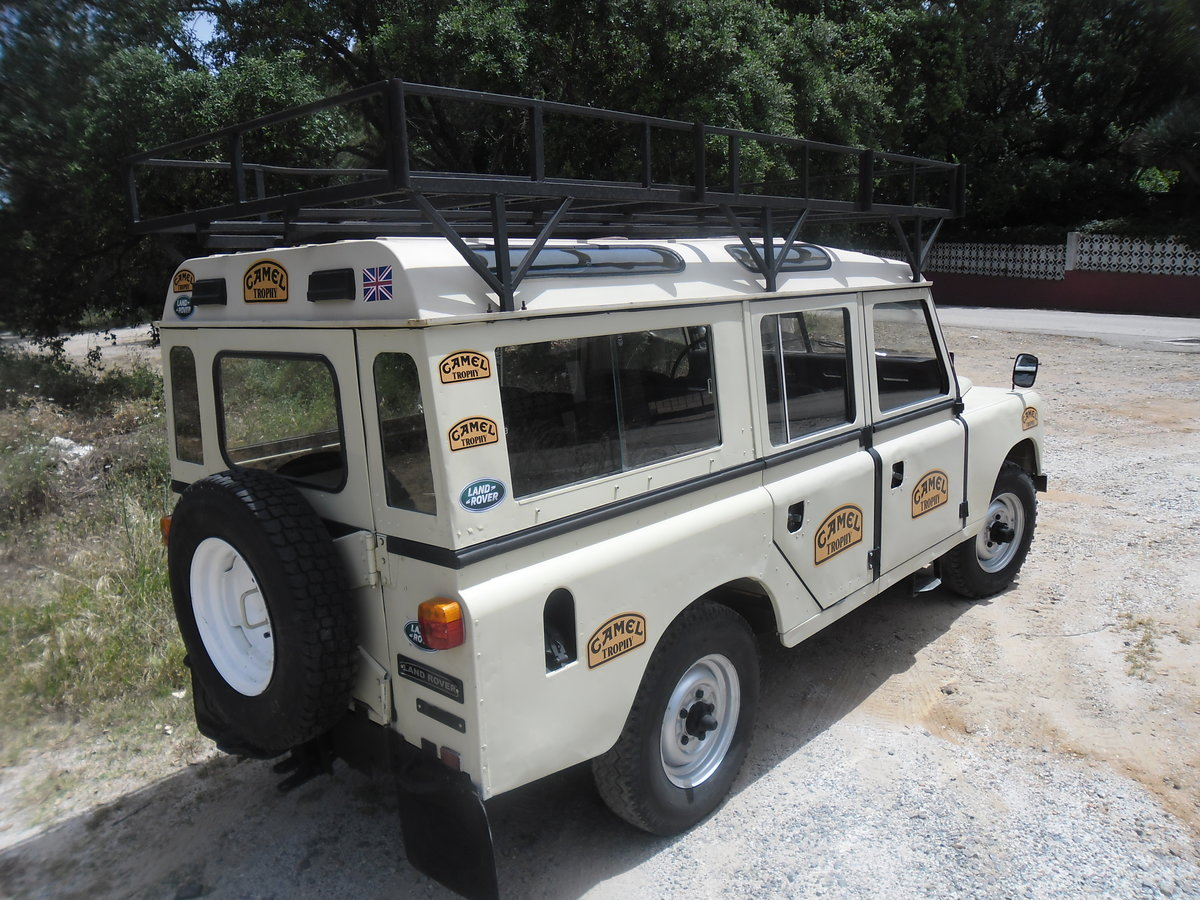 1981 Classic Land Rover  109  Series III   4 Doors For Sale (picture 7 of 12)