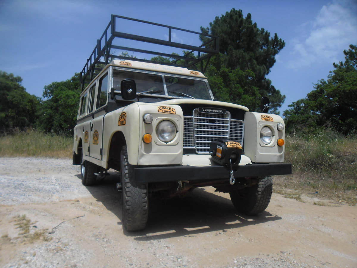 1981 Classic Land Rover  109  Series III   4 Doors For Sale (picture 9 of 12)