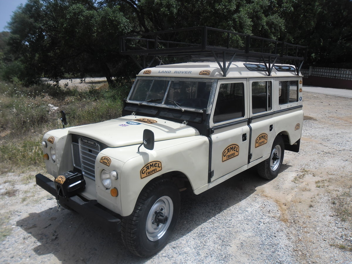 1981 Classic Land Rover  109  Series III   4 Doors For Sale (picture 10 of 12)
