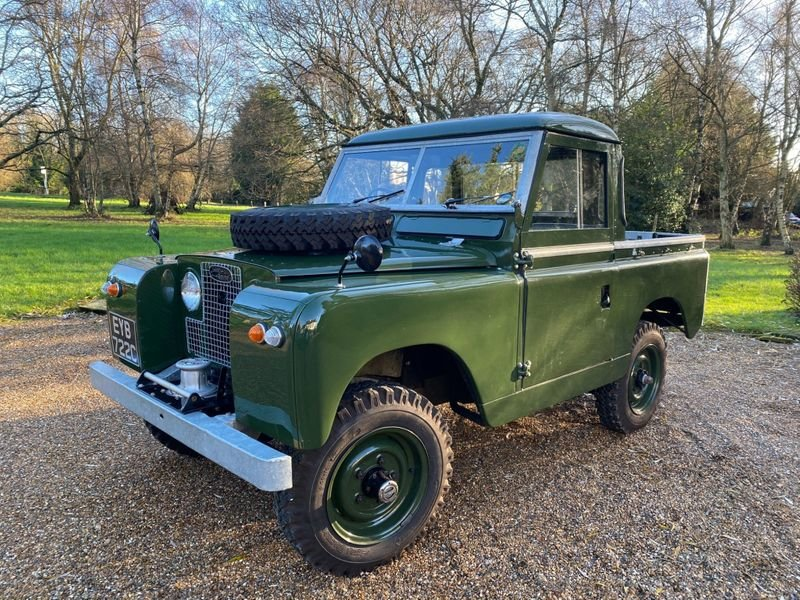 1965 Land Rover Series II a Mint Condition For Sale (picture 1 of 12)