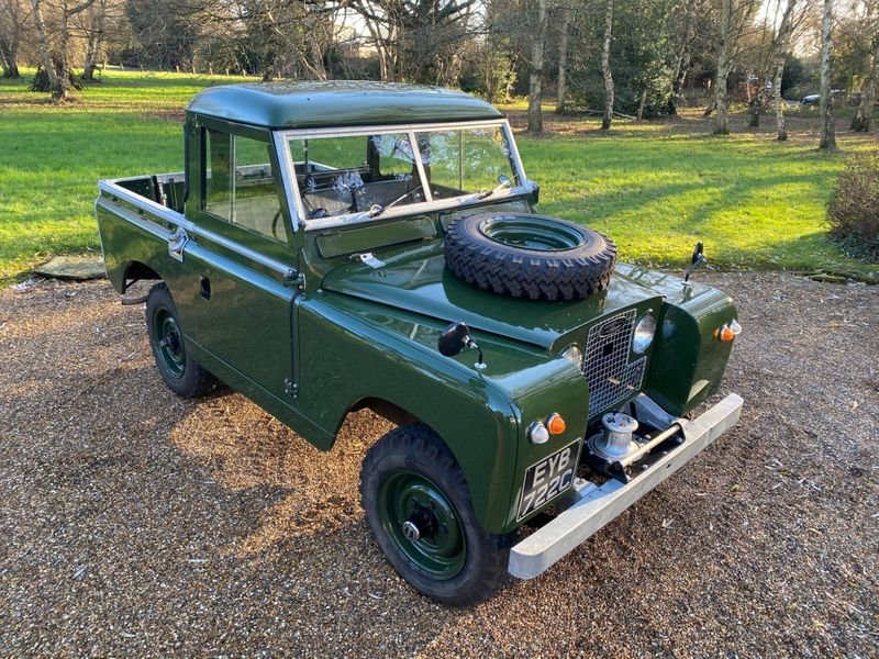 1965 Land Rover Series II a Mint Condition For Sale (picture 2 of 12)