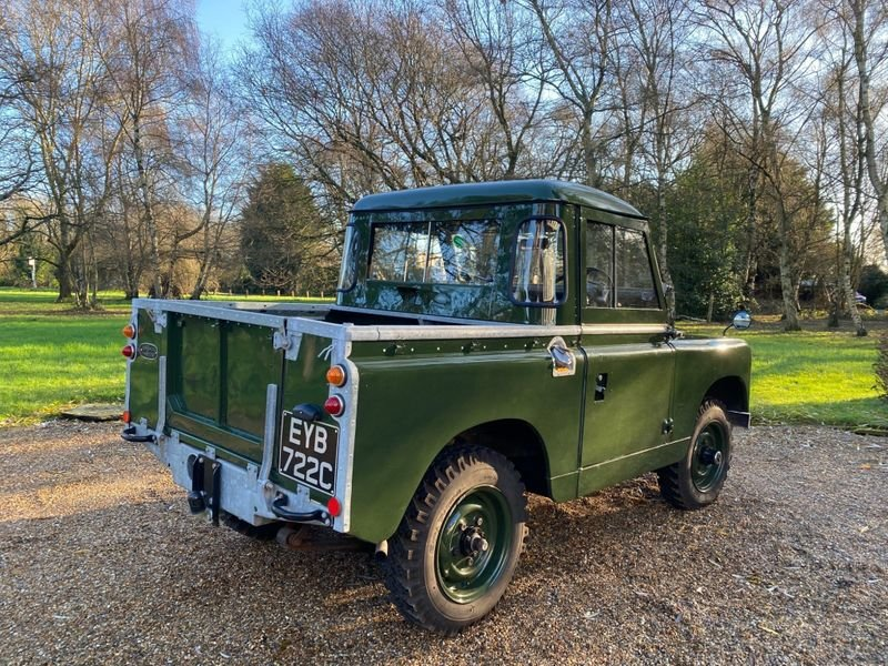 1965 Land Rover Series II a Mint Condition For Sale (picture 3 of 12)