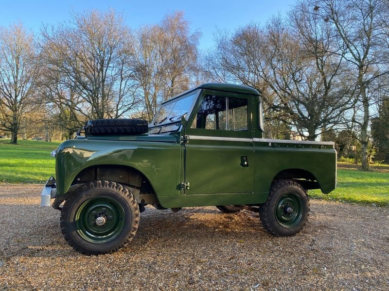 1965 Land Rover Series II a Mint Condition For Sale (picture 6 of 12)