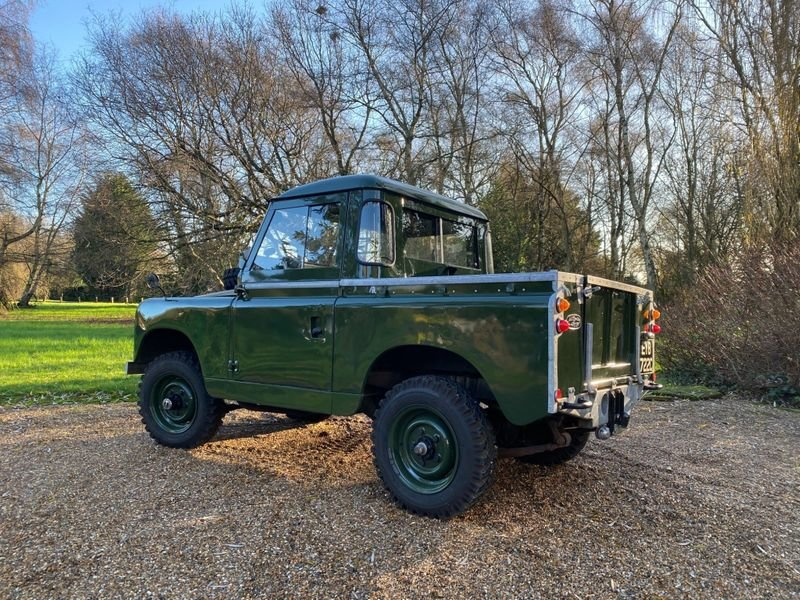 1965 Land Rover Series II a Mint Condition For Sale (picture 7 of 12)