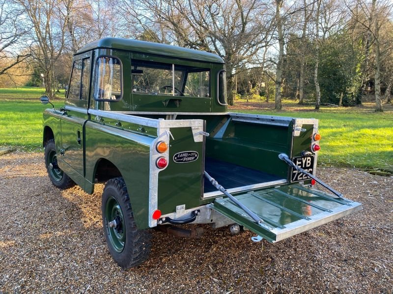 1965 Land Rover Series II a Mint Condition For Sale (picture 8 of 12)