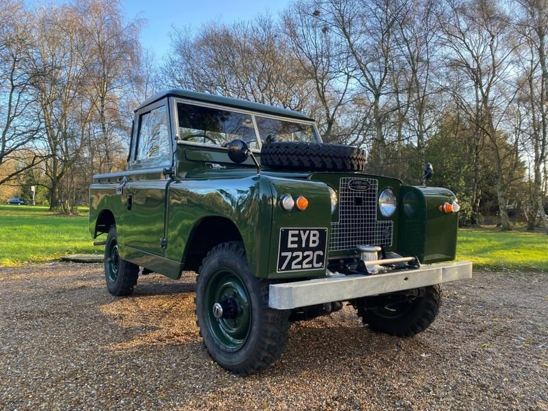 1965 Land Rover Series II a Mint Condition For Sale (picture 11 of 12)
