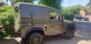 Ex-MOD Land Rover Defender Wolf TUL HS (XD)