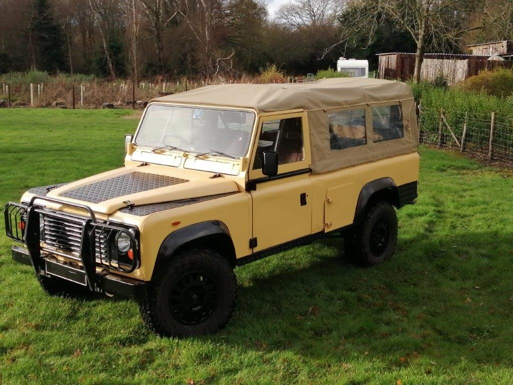 1985 Land Rover 110 Military Soft Top 2.5D SOLD (picture 1 of 12)