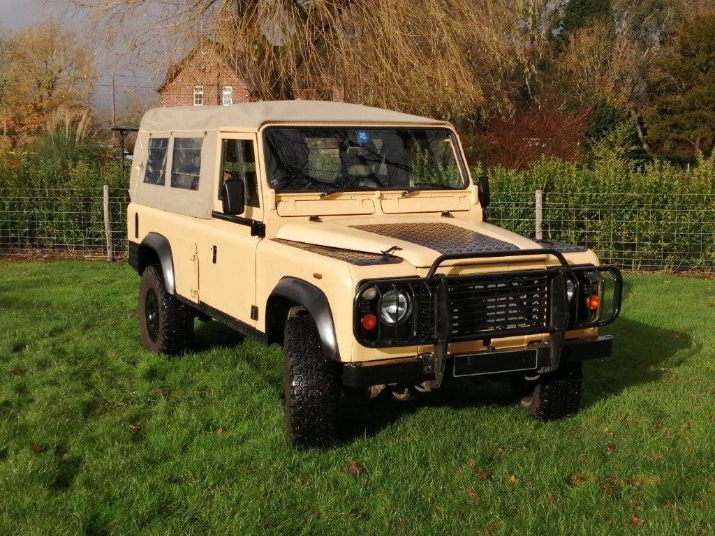 1985 Land Rover 110 Military Soft Top 2.5D SOLD (picture 2 of 12)