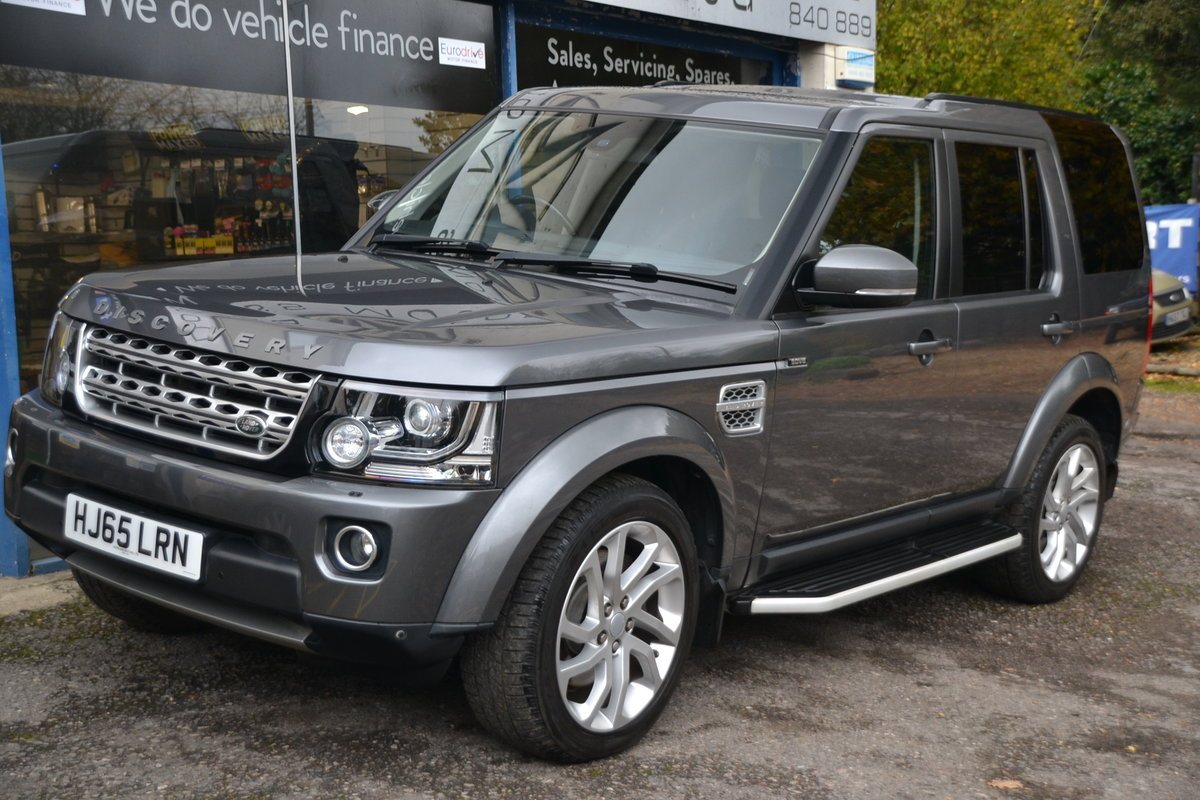 2015 Land Rover Discovery 4 3.0 SDV6 HSE For Sale (picture 1 of 12)